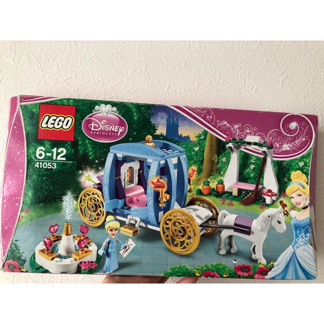 Disney(ディズニー)のLEGO Disney princess 2個セット キッズ/ベビー/マタニティのおもちゃ(積み木/ブロック)の商品写真
