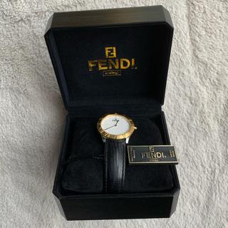 フェンディ(FENDI)のFENDI ズッカ柄 スイス製腕時計(腕時計(アナログ))