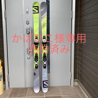 サロモン(SALOMON)のツインチップ スキー板 ビンディング付  売約済み(板)