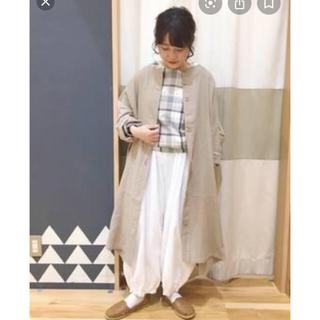 サマンサモスモス(SM2)のSM2☆新品タグ付きワイドシルエットコート(スプリングコート)