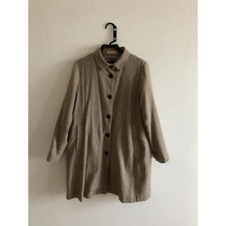 サマンサモスモス(SM2)のシャツカラーコート(スプリングコート)