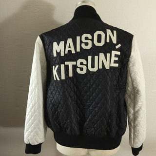 d4eaed2664 MAISON KITSUNE' - メゾンキツネ ロゴ入りジャンバーの通販 by matakunshop|メゾンキツネならラクマ
