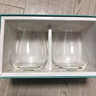 ティファニー(Tiffany & Co.)の新品未使用 ティファニー ペアグラス タンブラー(グラス/カップ)
