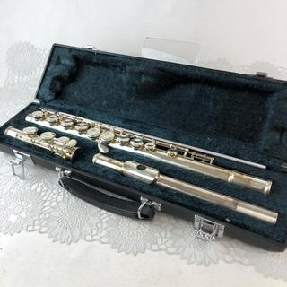 ヤマハ(ヤマハ)の❤決算セール❤ YAMAHA ヤマハ フルート 楽器 ケース付き A管吹奏楽部(フルート)