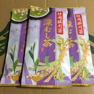 送料込⭐️定価3240円 3本 深むし茶(茶)