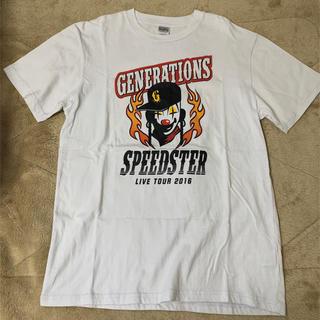 ジェネレーションズ(GENERATIONS)のGENERATIONS SPEEDSTER ライブTシャツ Lサイズ(アイドルグッズ)