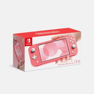 ニンテンドースイッチ(Nintendo Switch)のNintendo Switch Liteコーラル(携帯用ゲーム機本体)