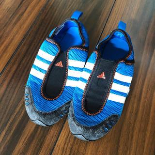 アディダス(adidas)のアディダス ウォーターシューズ 19cm(マリン/スイミング)