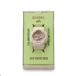 スナイデル(snidel)のsnidel 15周年記念コラボ baby-g(腕時計)