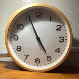 ムジルシリョウヒン(MUJI (無印良品))の壁掛け時計 無印良品(掛時計/柱時計)