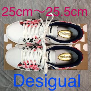 デシグアル(DESIGUAL)のデシグアル Desigual 刺繍入りスニーカー(スニーカー)