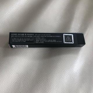 スリーシーイー(3ce)の3CE Super Slim pen アイライナー 黒(アイライナー)
