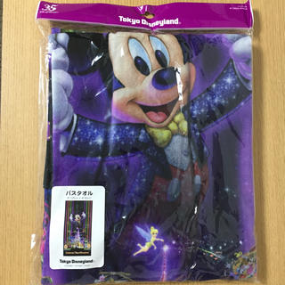 ディズニー(Disney)の東京ディズニーランド35周年 サラブレイト バスタオル(キャラクターグッズ)