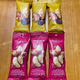 サハレスナック アーモンド&カシューナッツ 6袋(菓子/デザート)