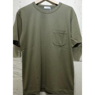 ナナミカ(nanamica)の美品 nanamica  H/S Crew Neck Shirt クルーネック(Tシャツ/カットソー(半袖/袖なし))