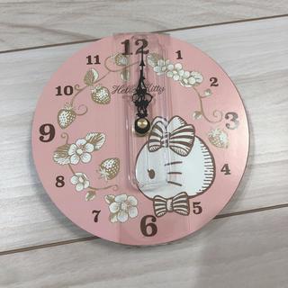 ハローキティ(ハローキティ)のキティー時計(掛時計/柱時計)