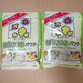 キッコーマン(キッコーマン)のキッコーマン 豆乳おからパウダー 粉末 食物繊維 植物性たんぱく質 ダイエット(豆腐/豆製品)