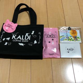 カルディ(KALDI)のカルディ ネコの日バッグ(トートバッグ)