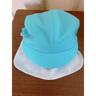 カラー帽子  保育園 幼稚園 水色(帽子)