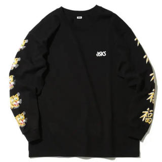 アシックス(asics)のasics beams mita sneakers ロンT 黒 L(Tシャツ/カットソー(七分/長袖))