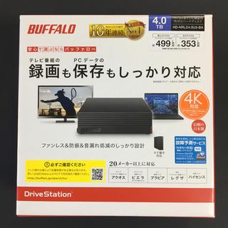 バッファロー(Buffalo)のバッファロー 4TB HDD(PC周辺機器)