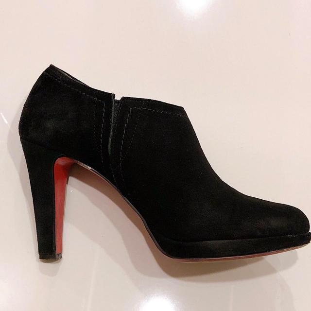 DIANA(ダイアナ)の*限定値下げ*DIANA*レッドソール*ブラックスエードブーティ レディースの靴/シューズ(ブーティ)の商品写真