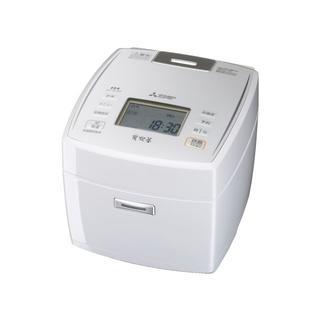 ミツビシデンキ(三菱電機)のお買い時!三菱IHジャー炊飯器 1.0L5.5合炊きNJ-VE109-W新品未開(炊飯器)