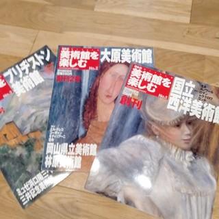 アサヒシンブンシュッパン(朝日新聞出版)の日本の美術館を楽しむ 3冊 (アート/エンタメ/ホビー)