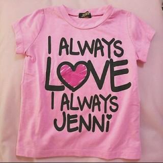 ジェニィ(JENNI)のJENNI♡100♡Tシャツ(Tシャツ/カットソー)