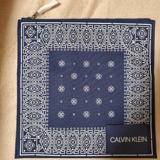 カルバンクライン(Calvin Klein)の calvin klein ポーチ クラッチバッグ 送料無料 匿名配送 未使用(セカンドバッグ/クラッチバッグ)