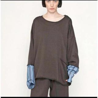 サンシー(SUNSEA)のmy beautiful landlet シャツスリーブスウェットカットソー(Tシャツ/カットソー(七分/長袖))