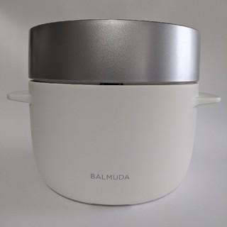 バルミューダ(BALMUDA)のBalmuda the Gohan バルミューダ炊飯器 白(炊飯器)