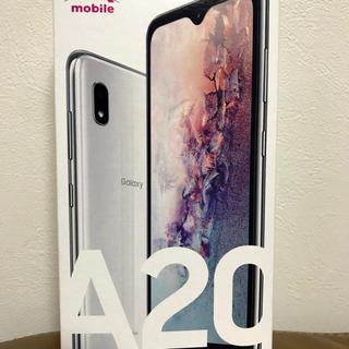 ギャラクシー(Galaxy)のGalaxy A20 ホワイト 32 GB UQ mobile(携帯電話本体)