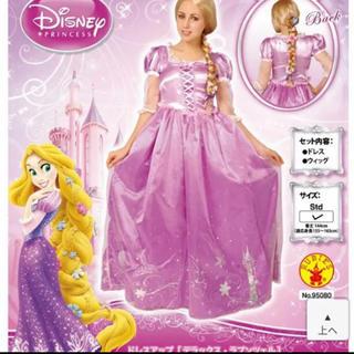 ディズニー(Disney)のランプツェル(ウィッグ付き) コスプレ コスチューム(衣装一式)