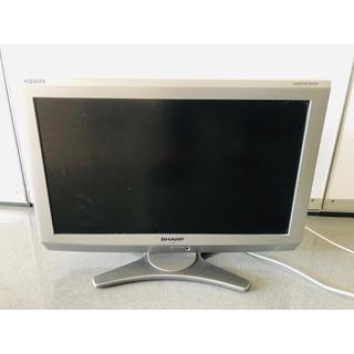 アクオス(AQUOS)のSHARP AQUOS E E6 LC-20E6-S(テレビ)