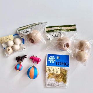 キワセイサクジョ(貴和製作所)の特価 ウッドビーズ ハンドメイド 貴和製作所(各種パーツ)