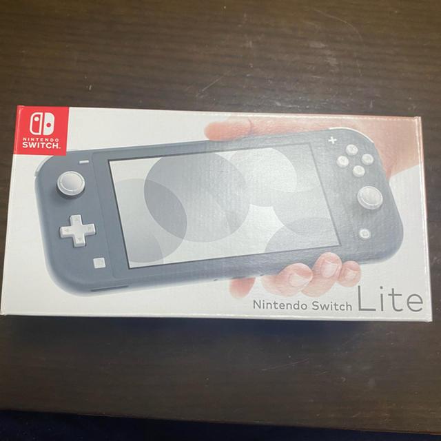 Nintendo Switch(ニンテンドースイッチ)のNintendo Switch Liteグレー  エンタメ/ホビーのゲームソフト/ゲーム機本体(家庭用ゲーム機本体)の商品写真