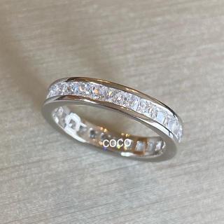 ドゥロワー(Drawer)の最高級 人工ダイヤモンド フルエタニティ リング sona   (リング(指輪))