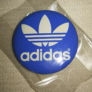 アディダス(adidas)の【adidas】(未開封) アディダス 缶バッジ(バッジ/ピンバッジ)