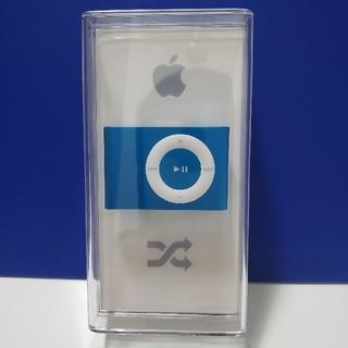 アイポッドタッチ(iPod touch)の【最終値下げ】iPod shuffle ブルー 1GB(ポータブルプレーヤー)