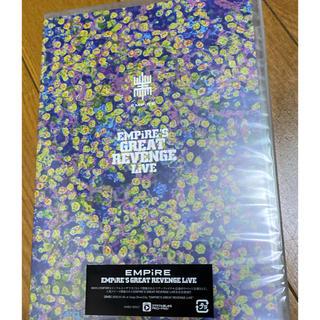 エンパイア(EMPIRE)のEMPiRE'S GREAT REVENGE LiVE DVD 新品未開封(ミュージック)