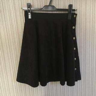 マーキュリーデュオ(MERCURYDUO)のMERCURYDUO♡スウェードスカート(ミニスカート)