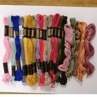 オリンパス(OLYMPUS)の刺繍糸 OLYMPUS オリムパス 25番 20本 20色セット (生地/糸)