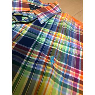 ポロラルフローレン(POLO RALPH LAUREN)のポロラルフローレン  チェックシャツ マドラスチェック Sサイズ(シャツ)