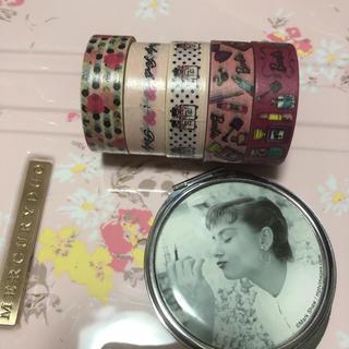 バービー(Barbie)のピンキーガールズ&バービー♡マステセット(テープ/マスキングテープ)