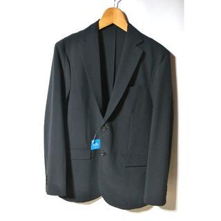 ジーユー(GU)の新品 GU ジーユー ドライストレッチジャケット ブラック M メンズ 今季(テーラードジャケット)