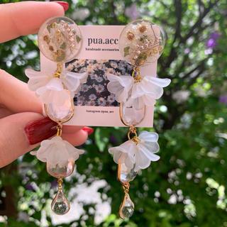 flower beads pierce(ピアス)