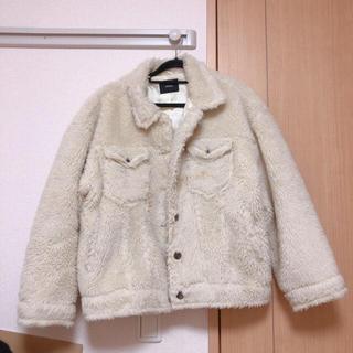 ムルーア(MURUA)のMURUA ボアジャケット(毛皮/ファーコート)