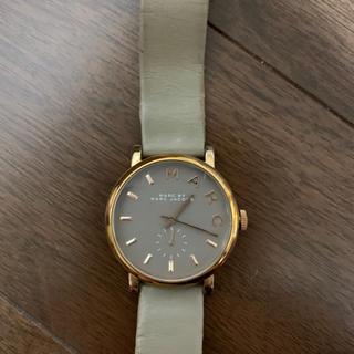マークバイマークジェイコブス(MARC BY MARC JACOBS)の腕時計 グレー(腕時計)