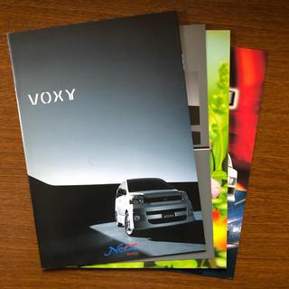 トヨタ - トヨタ ヴォクシー & ノア カタログ(2冊セット)